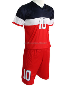 Thai Quality Custom made Soccer Jersey Short Sleeve Football Team Uniform Cheap kids Soccer Jerseys