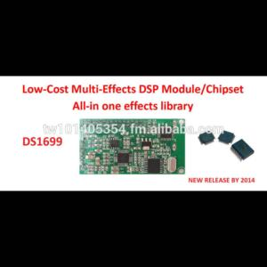 DS1699 Versatile sound effect & Multi applicational Audio Effect  chipset/Module