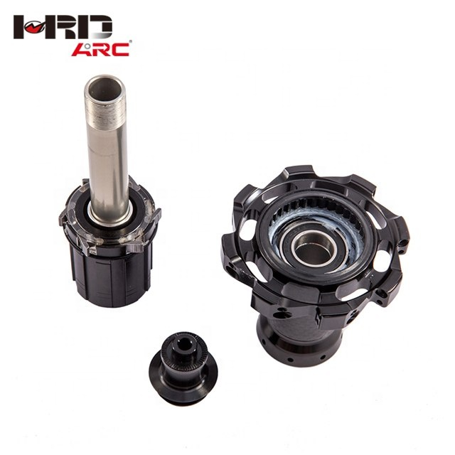 RT-025F/RCB Carbon Fiber CNC Lightweight Road Bicycle hub, Can be customized