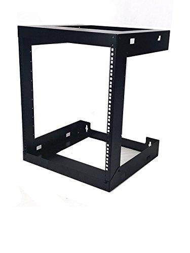 Buy 4U 6U 8U 9U 12U 18U 22U Wall Mount Open Frame 19