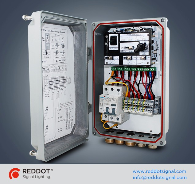 Ctrs4cbsp Control Box For Aviation Obstruction Light