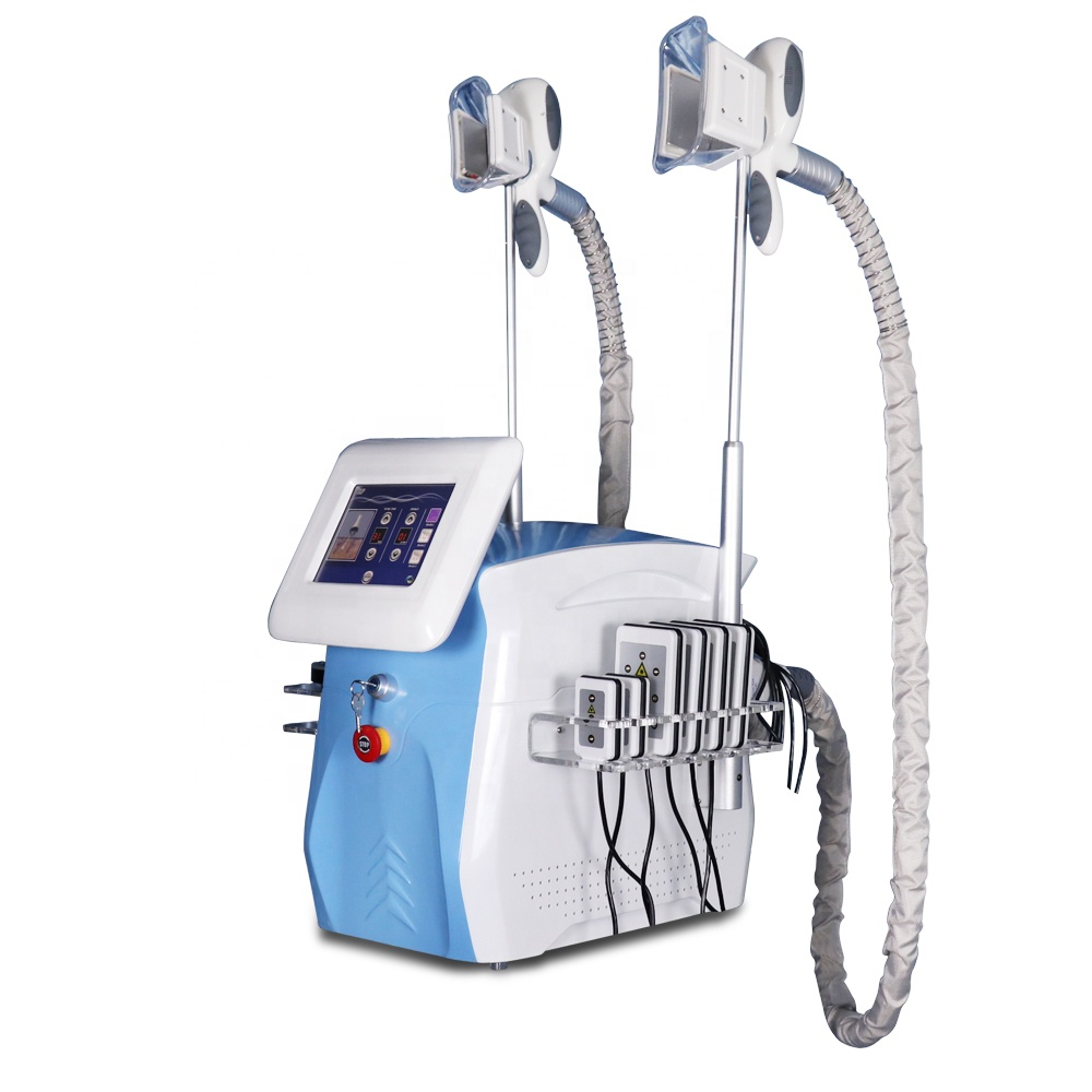 5 in 1 Body Slimming Vacuum Tripolar Rf Cavitation Liposuction Cryo Lipolysis Devices