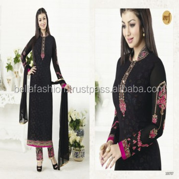 Beautiful Black Color Special Occasion Fancy Looking Pakistani