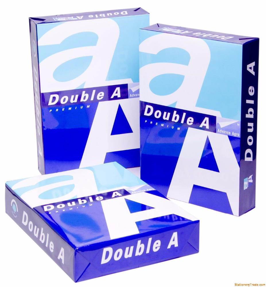 Double A A4 paper A4 copy paper 80gsm factory price