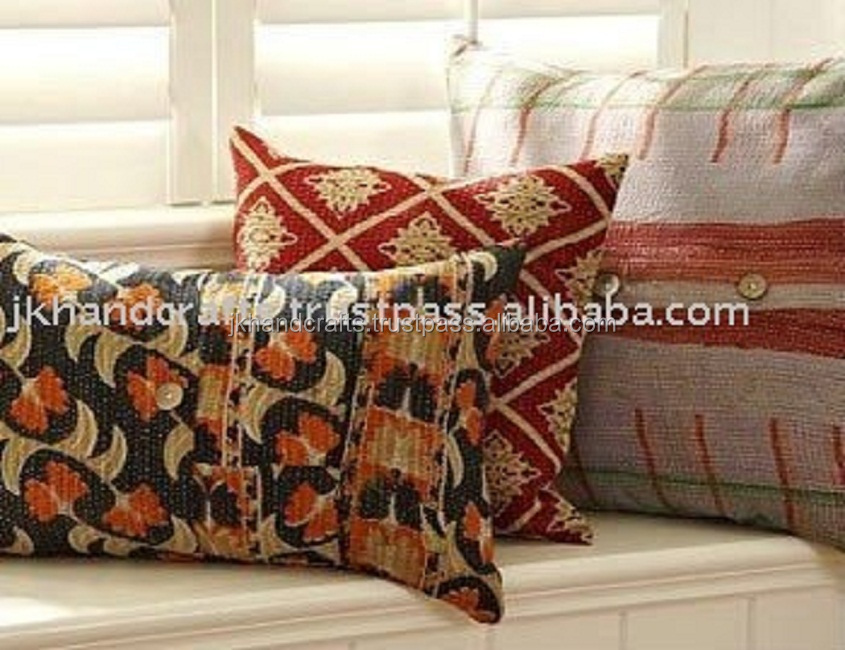 old vintage quilts pillow covers, View decorative pillow, Amazing Forever  Product Details from J.K. HANDICRAFT INDUSTRIES on Alibaba.com