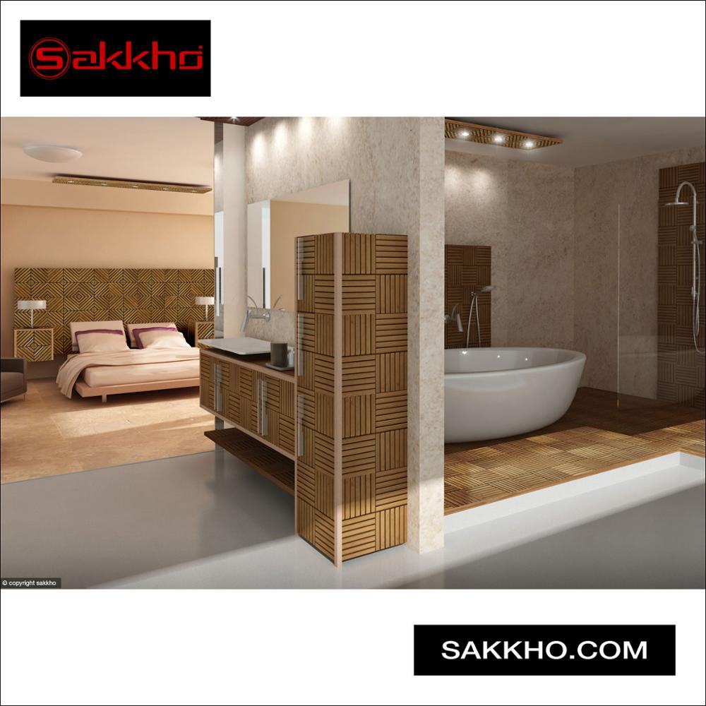 Sakkho Bathroom Shower Wall And Deck