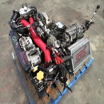 Jdm Impreza Wrx Sti Engine Ej207 6-speed Trans V  7 Ecu Harness Turbo  Intercooler - Buy Jdm Wrx Sti Engine Ej207 6-speed Trans V  7 Ecu Harness  Turbo