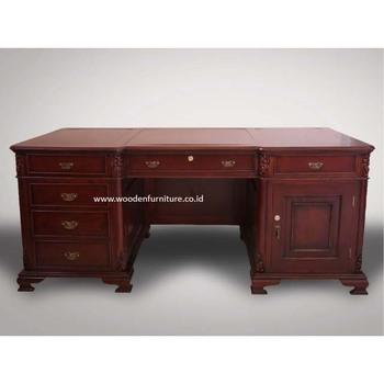 Antique Executive Desk French Style Writing Table Classic Partner Desk  Vintage Writing Desk European Style President Desk   Buy Executive ...
