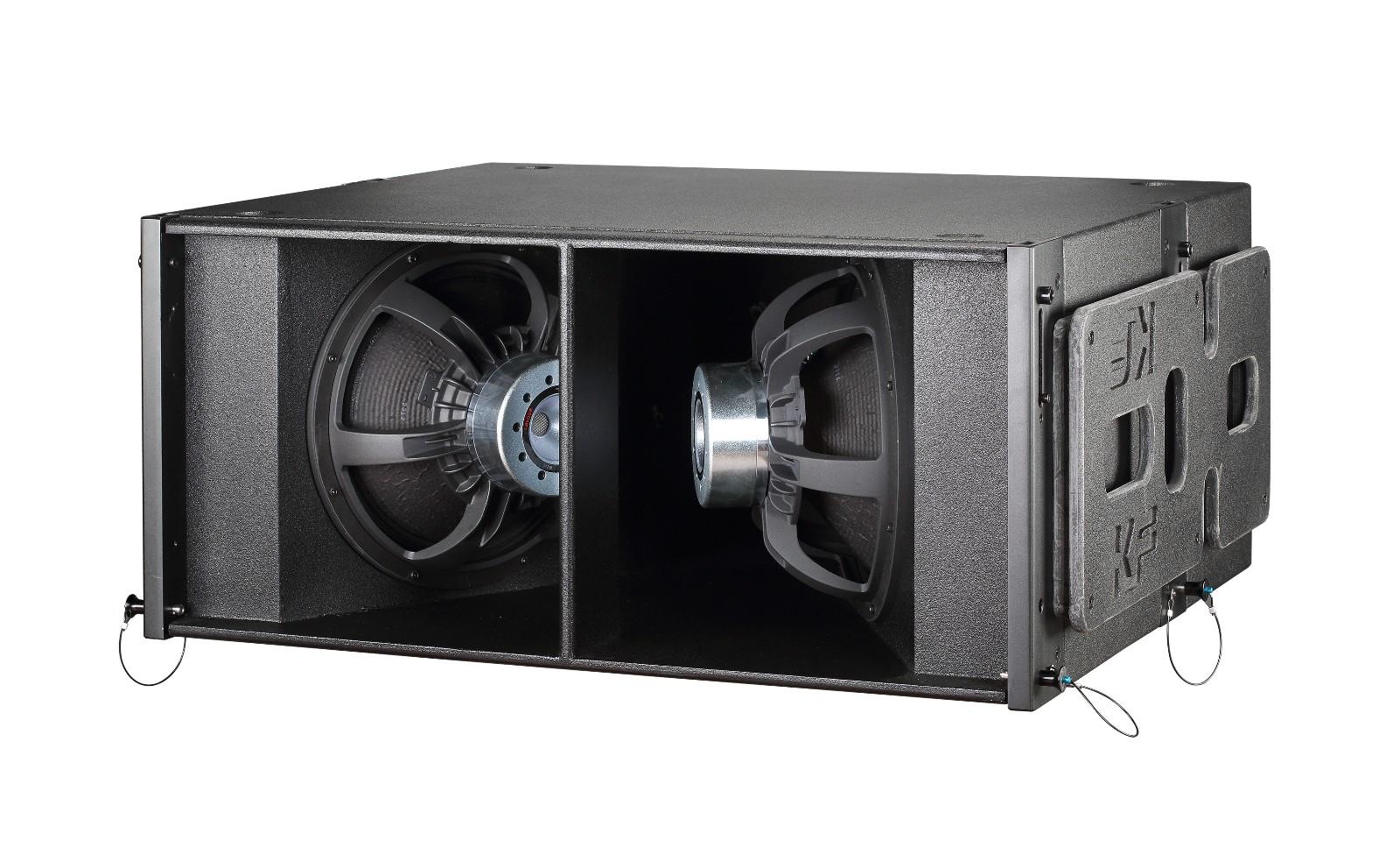 タッソホット販売デュアル 12 インチプロオーディオビデオ屋外スピーカー 2 ウェイプロラインアレイ KF212 用