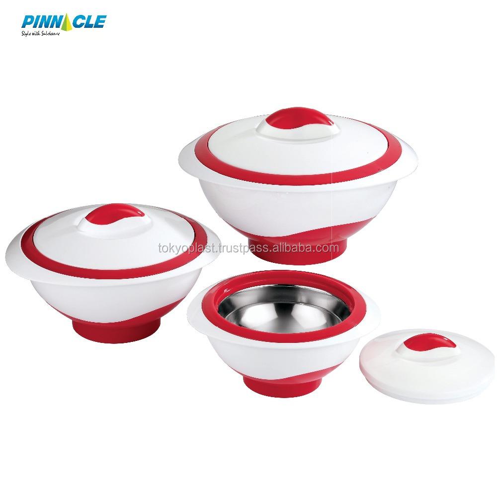 Pinnacle 3000ml Casserol Insulated Hot PoT Food Warmer Thermo Food Warmer