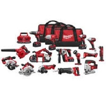 FAST-WORKING Milwaukee 2691-22 M18 Cordless 15-tool Combo Kit/Power Tool Milwaukee M18 15-tool Combo Kit