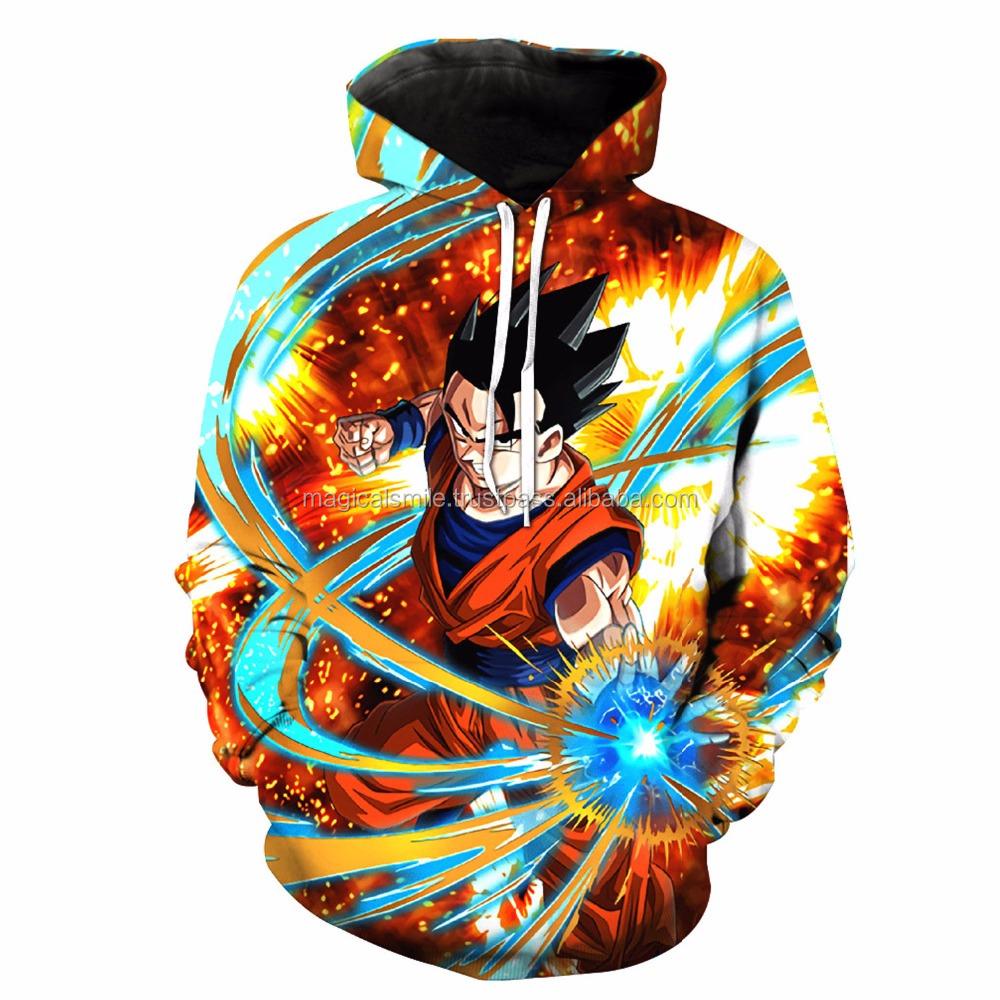 Hoodies & Sweatshirts Objective Men Women 3d Hoodie Dragon Ball Z Sweatshirts Anime Fashion Casual Tracksuits Boy Jackets Hooded Pullover Asian Size Hoodies