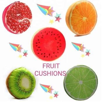Style Maniac 3D fruit simulation Creative Soft   Comfortable Sponge high  quality short plush Fruit Cushion f361e974dd38
