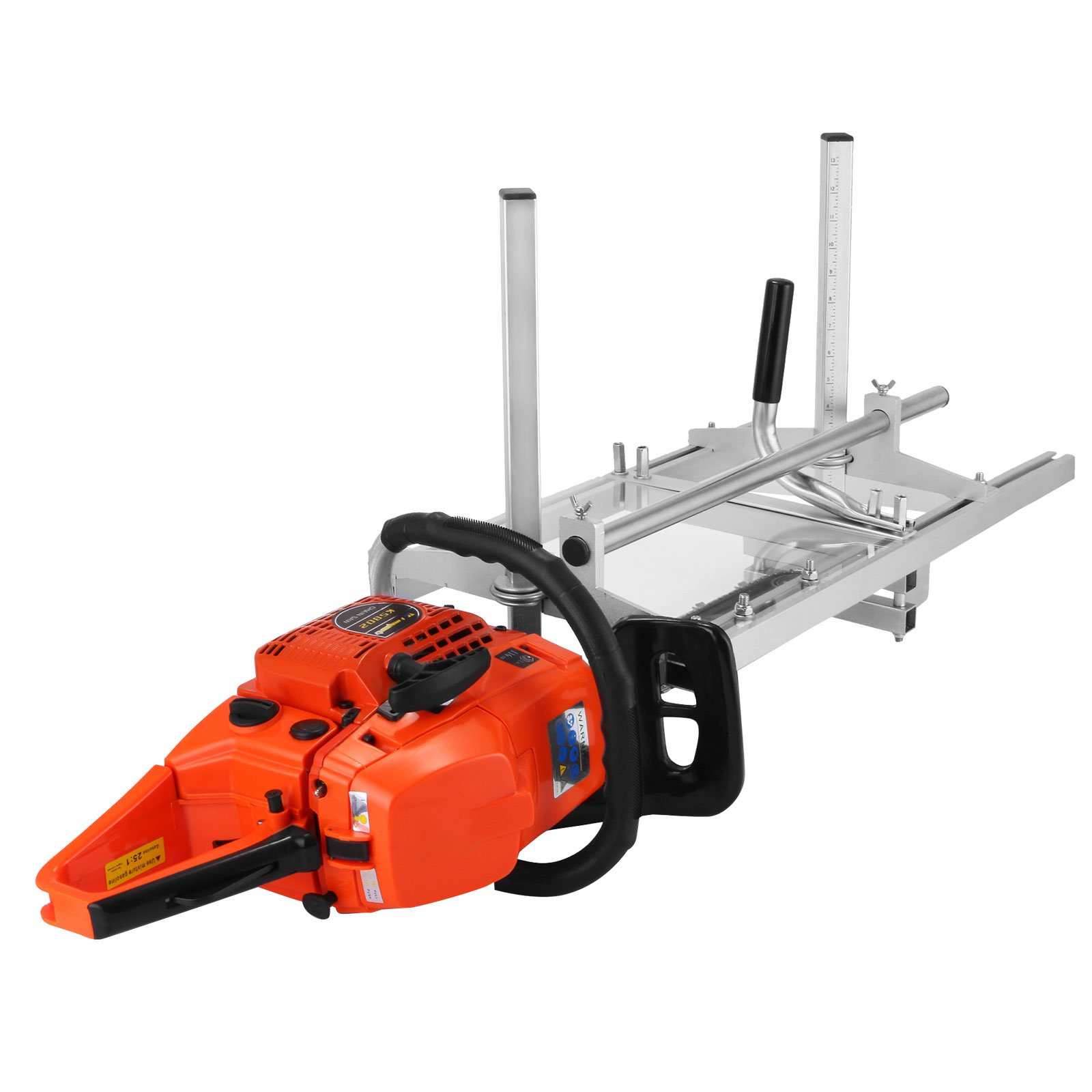 """LOVSHARE 14 Inch - 36 Inch Saw Mill Portable Chain Sawmill Attachment Planking Milling Cutting Guide Bar Fits for Chainsaw Bars up to 14""""-36"""" (Chainsaw not Included)"""