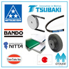 Reliable gates timing belt (Mitsuboshi, Bando, Nitta, Gates Unitta Asia, Tsubaki) made in Japan