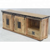 Wooden Metal Urban Loft Industrial Cabinet Drawer