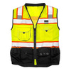 100 polyester safety vest/safety reflective traffic wear high quality saftey uniform Overalls wears manufacture 100% quality