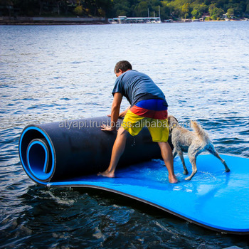 Water Pad With Foam Swimming Floating Mat For Lake Water