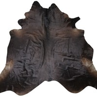 Factory Quality Dried Cow Hide finished leather/ 100% genuine leather