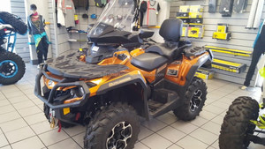 Used 2017 Can-Am Outlander MAX Limited 1000