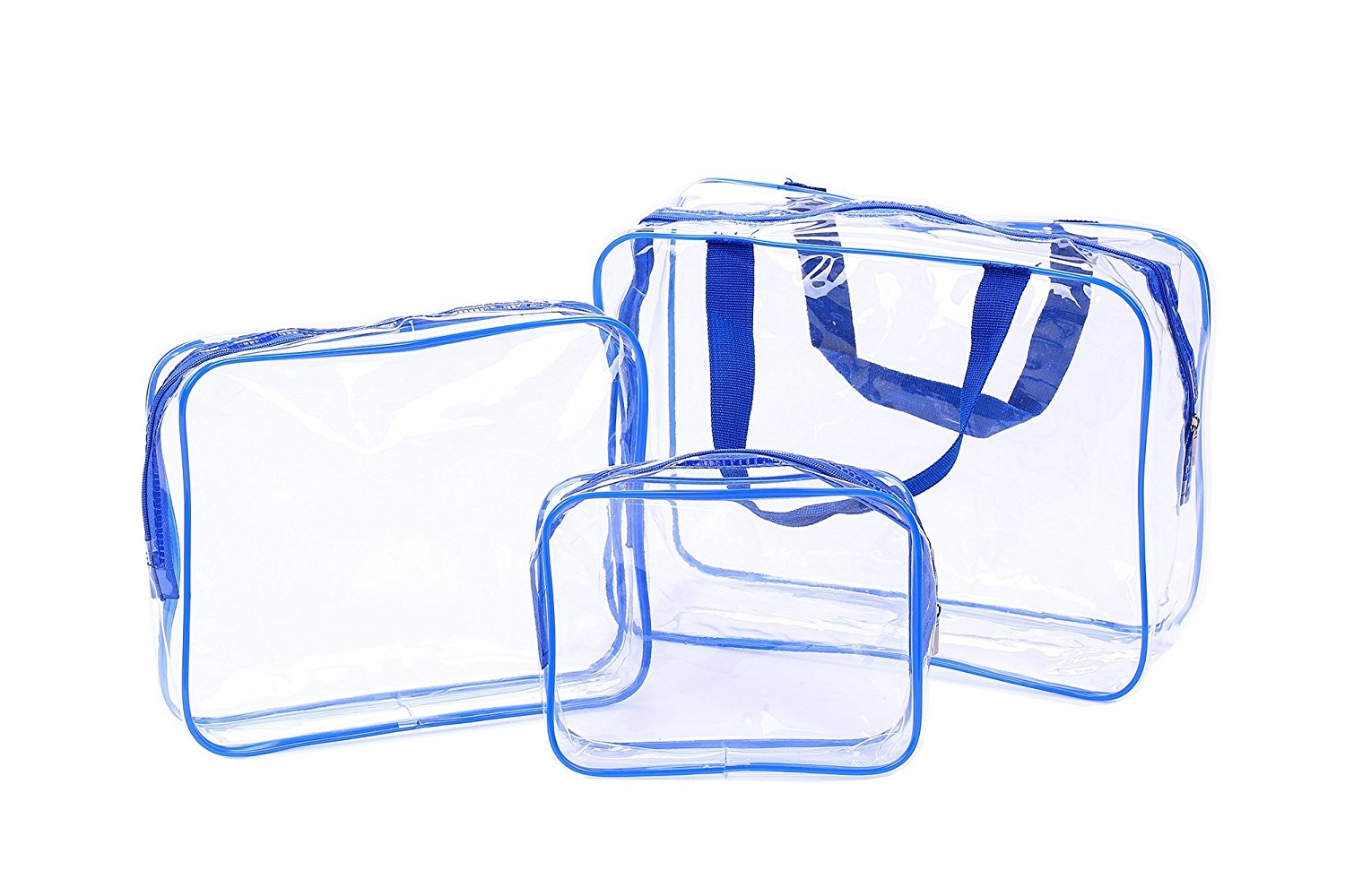 e4d5e880c94b Get Quotations · Cothyen Carry On Clear Travel Toiletry Bag