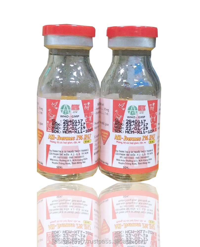 Hot sale, Ivermectin 1% Injection for veterinary medicine