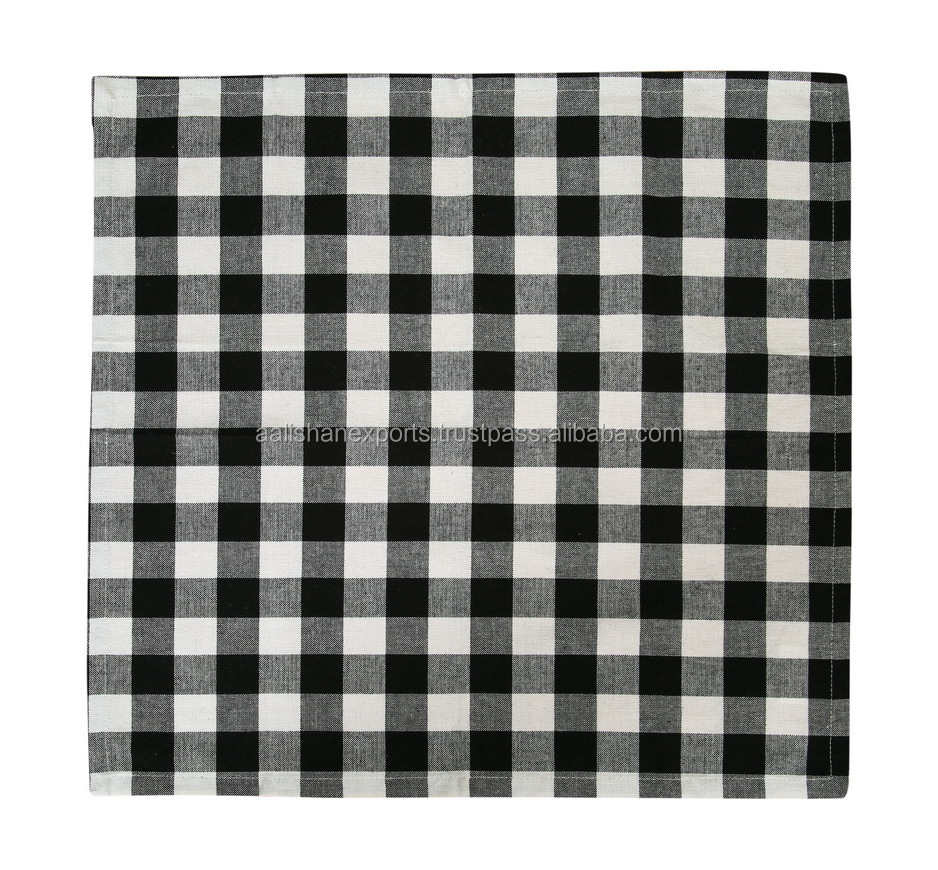 blue checkered paper napkins Add a pop of color to your fall table with our exclusive cotton napkins featuring a classic plaid print, they're perfect for entertaining or everyday meals—a.