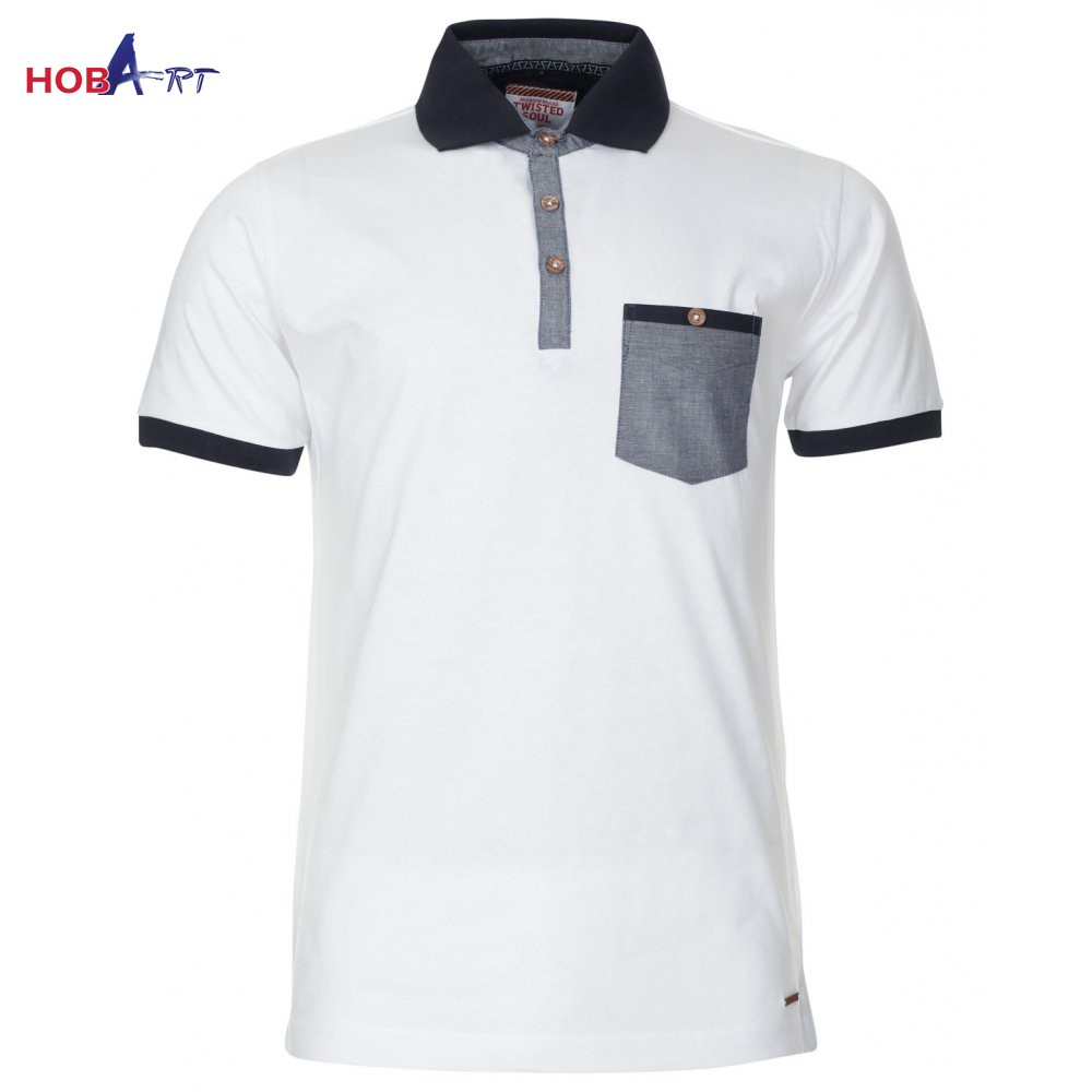 6c56eefd7 Men Custom Made Plain Polo Shirts With Pocket Made In Pakistan - Buy ...