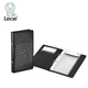 2019 Office Supply Promotion OEM Business Leather Card Holder Wallet