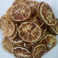 Whole dried lemon / Dried citrus peel / Sliced lime