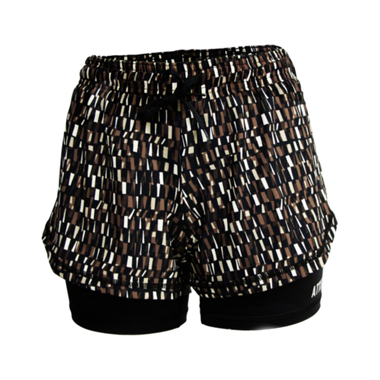 Adjustable Elastic Jogging short short pants for women