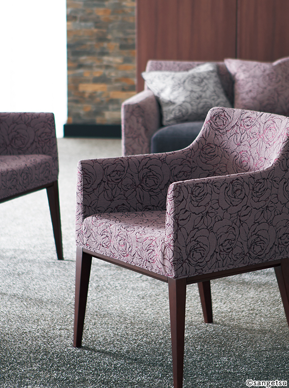 UP-8024 - UP-8026, JOSEPHINE, 3 Colors Available, Sangetsu Brand Upholstery, Sample Available