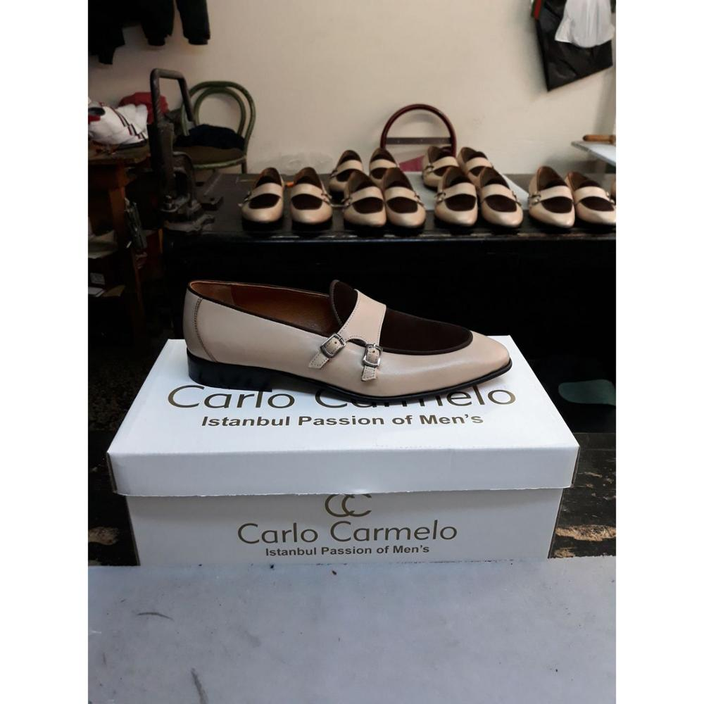 Men Double Men Colour Leather Shoes RRnZxBA