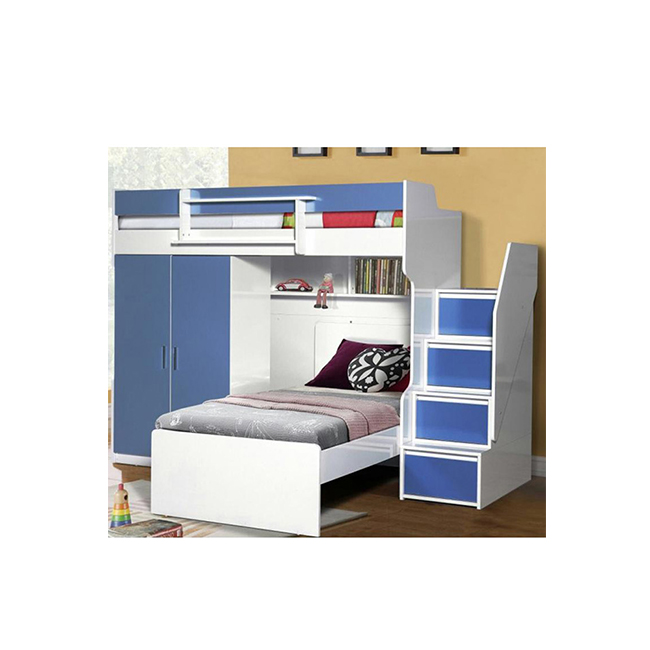 Bedroom Furniture Wardrobe Children Bunk Bed Product On Alibaba
