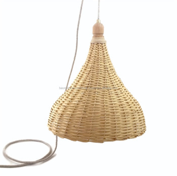 basket pendant light. Woven Wicker Basket Lamp Large Handmade Pendant Light Natural Rattan Hanging Chandelier Ceiling Wood Lighting