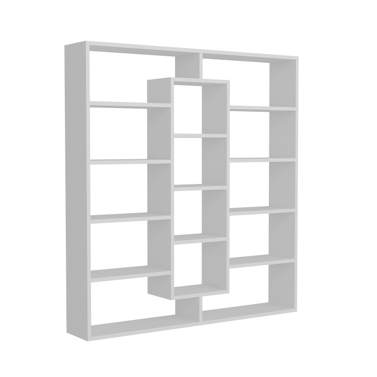 Handy Quality White Gloss Bookcase Bookcases Product On Alibaba