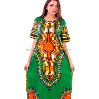 Indian Women Traditional Wear African Print Dashiki Dress Short Sleeve  Party Hippie Handmade Tunic Plus Size - Buy African Print Dashiki  Dress,Plus ...