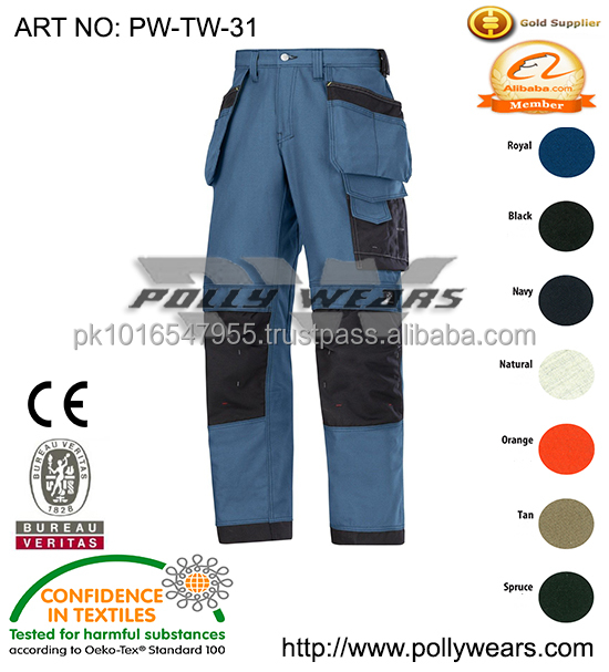 Professional wholesale cargo pants /trousers with multi pockets