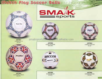 Football Soccer Ball Factory Wholesale Supplier From Sialkot Pakistan Cheap  Price / Smaik Sports - Buy Cheap Price Soccer Ball,Mini Ball,Rugby Ball