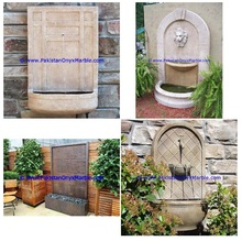 Simple Style Outdoor marble fountains handcarved hotels home garden wall marble water fountain new designs