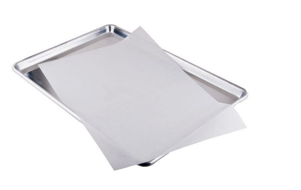 sdber® Parchment Paper for Baking Pan Liners 100 Sheets Silicone Treated (100) (16X12)