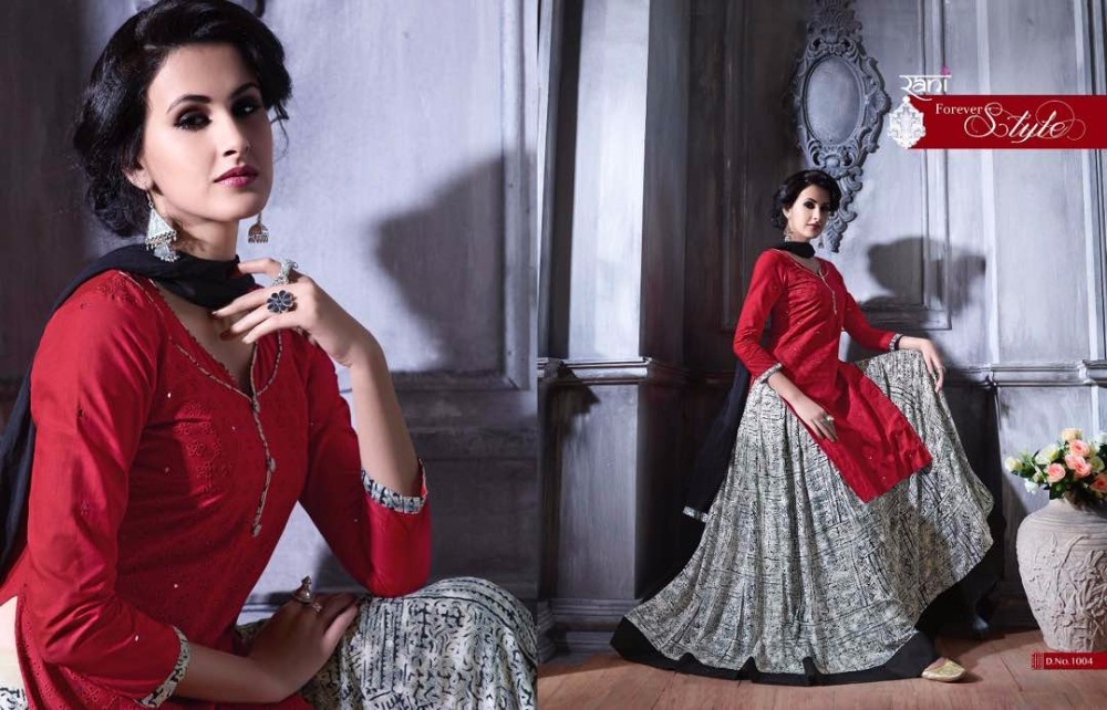Raani Rangat Ready to Wear Salwar kameez with Lehanga Pure Cotton fabric for Women and Girls