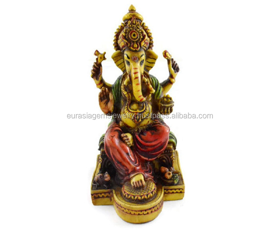 Exclusive New Lord Ganesha Statue Resin Handicraft Home Decor Gift item
