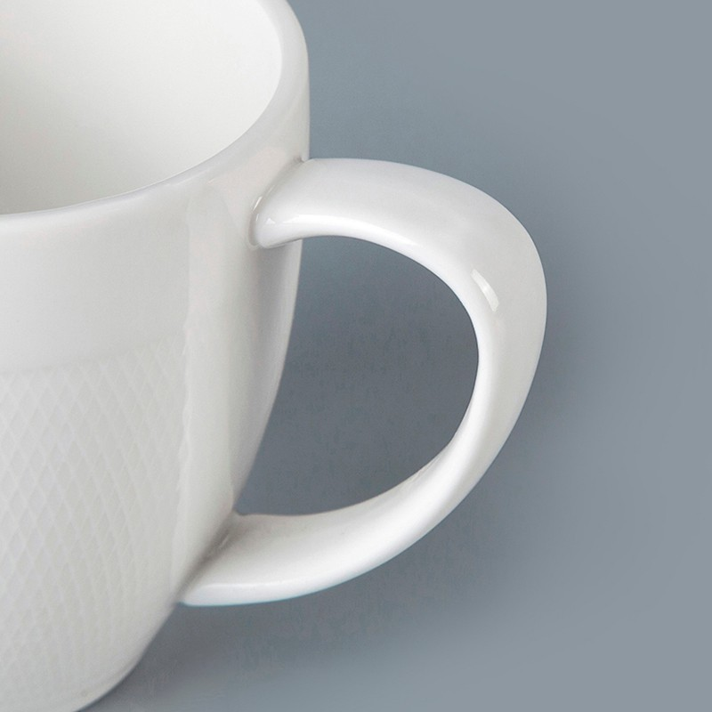 product-Two Eight-Best Seller Restaurant Hotel Supplies Tableware White Stoneware Mug Chaozhou, Cera-1