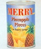 Good Quality Canned Pineapple Pieces in Syrup