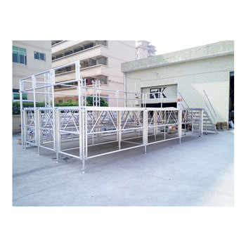Charmant Aluminum Stage Platform With Stairs And Guards
