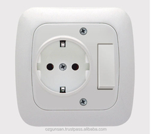 High Quality Best Price Switch Earthed Socket