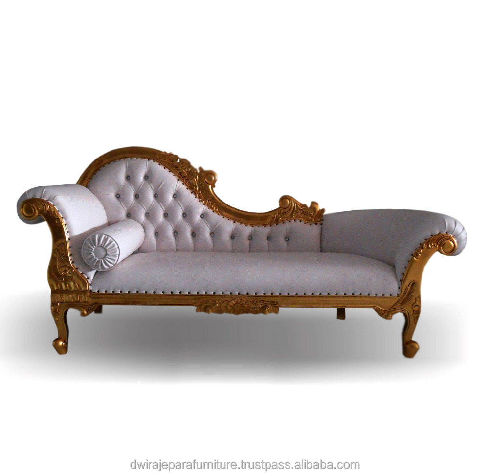 - Carved Wood Chaise Lounge Furniture Classic Style - Buy Chaise