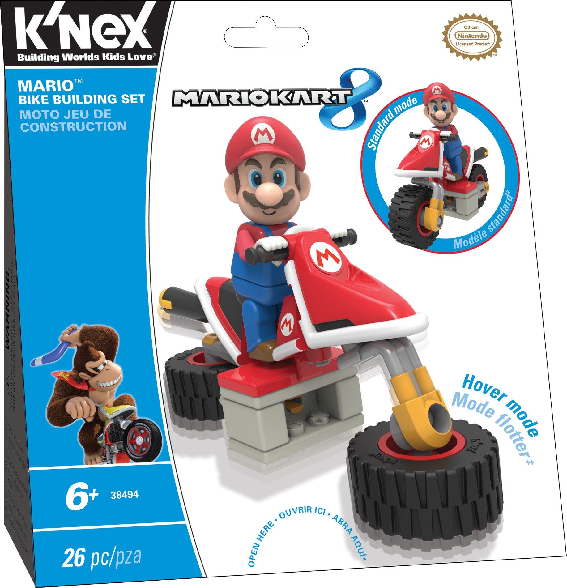3a97e04117 Get Quotations · K NEX Mario Kart 8 - Mario Bike Building Set
