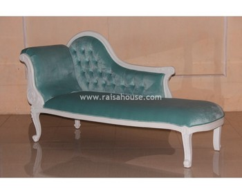 Mahogany Furniture - Single End Sofa Indonesia French Furniture